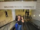 Daniela Mercury aproveita turnê para fazer turismo pela América do Norte