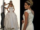 Luma Costa, atriz de 'Fina Estampa', posa de noiva para capa de revista