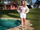 'Me apaixonei', diz Regiane Alves sobre filho de Regina Duarte
