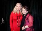 Após internação, Vera Fischer confere estreia de peça no Rio