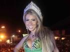 Andréa de Andrade deve deixar o cargo de rainha da Mocidade