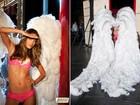 Alessandra Ambrósio exibe corpão em campanha da Victoria's Secret
