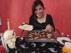 Priscila Pires ensina culinária divertida para o Dia das Bruxas