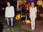 Caio Castro e Monique Alfradique foram ao cinema juntos, diz jornal