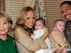Mariah Carey abre o baú e divulga foto com os gêmeos