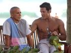 'Já fiz muitas maldades, até assalto', diz Carlos Machado, vilão de 'Fina'