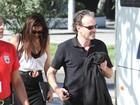 Juliana Paes e Marco Ricca gravam cenas finais de 'O Astro'