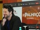 Descabelado, Selton Mello apresenta filme em São Paulo