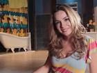 'Se acontecer sem querer será ótimo', diz Regiane Alves sobre gravidez
