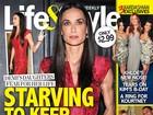 Demi Moore estaria ingerindo apenas 500 calorias por dia, diz revista