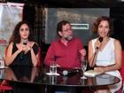 Camila Pitanga vai a lançamento de livro no Rio