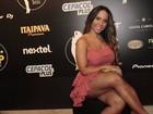 Mulher Melão se declara para o ator Caio Castro: 'Estou babando por ele'
