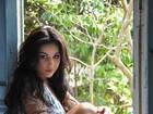 Desirée Oliveira, a Mulata Difícil do 'Zorra Total', posa como Gabriela