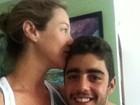Luana Piovani posta foto com namorado: 'transbordando de amor'