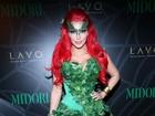 Kim Kardashian vai vestida de Hera Venenosa a festa de Halloween