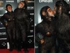 Heidi Klum vai fantasiada de macaco a sua festa de Halloween