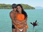 Belo conta a jornal que planeja filho com Gracyanne após o Carnaval