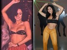 Morena da Laje reproduz looks de Tieta e Dancin' Days em ensaio