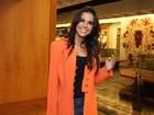 Mariana Rios teve ajuda de Di Ferrero para se preparar para o SWU
