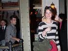 Bruno Gagliasso e Giovanna Ewbank jantam em restaurante de São Paulo