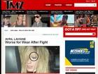 Avril Lavigne aparece com o olho machucado depois de sofrer 'ataque'
