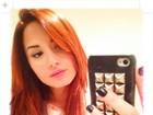 Pequena Sereia? Demi Lovato pinta o cabelo de vermelho