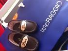 Renata Ceribelli manda personalizar sapatinhos para o filho de Piovani