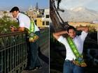 Brasileiro que é Mister Mundial Universo 2011 passeia no Peru