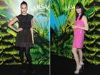 Jessica Alba e mais famosas vão a evento de moda em Nova York