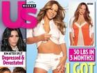 Mariah Carey mostra barriguinha seca em capa da revista