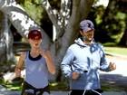 Cinco meses após dar à luz, Natalie Portman corre atrás da boa forma
