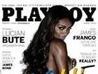 Ex-BBB Jaqueline estampa capa da edição romena da 'Playboy'