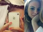 Sthefany Brito deixa os cabelos mais loiros e posta foto no Twitter
