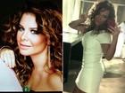 Fernanda Souza adota babyliss efeito Madonna para revista