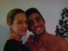 Marido de Luana Piovani tatua nome do filho no peito