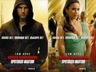 Tom Cruise faz cara de mau em pôster no 'Missão Impossivel 4'