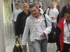 Antonio Banderas e Salma Hayek desembarcam no Rio de Janeiro