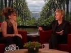 'Não estou saindo com ninguém. É ruim', diz Rihanna a Ellen DeGeneres