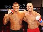 Campeão de MMA coreografa a luta de Wallace Mu e Jorge Muralha