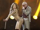 Jennifer Lopez faz coreografia ousada em premiação