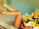 Bábara Evans mostra prévia de ensaio na 'Playboy'
