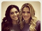 Juliana Paes grava reality com Ingrid Guimarães