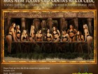 Candidatas ao Miss Bumbum Brasil recriam 'A última ceia'