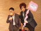 Thammy Gretchen posa em padaria para 'campanha' contra homofobia
