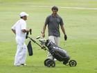 Marcos Pasquim joga golfe no Rio
