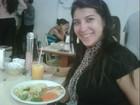 Grávida, Priscila Pires posta foto de almoço light