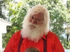 Julia Gomes, a pequena Sofia de 'A Vida da Gente, grava com Papai Noel