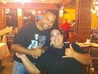 André Marques e Dudu Nobre se encontram no Rio