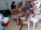 Neymar curte praia com Thiaguinho do Exaltasamba