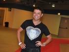 David Brazil vai a show com look em homenagem a Ivete: 'Minha diva!'